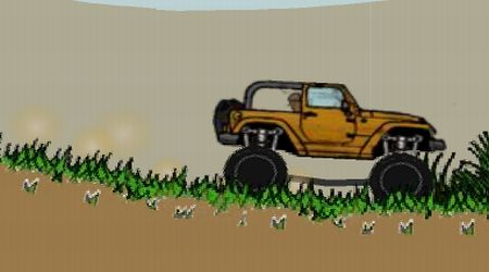Screenshot of the game Big Truck Adventures 3