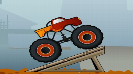 Screenshot of the game Crazy Truck