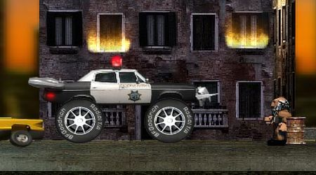 Screenshot of the game Killer Trucks