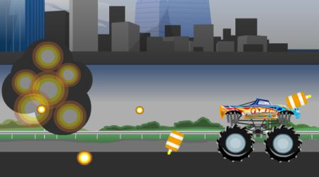 Screenshot of the game Monster Jam: Destruction