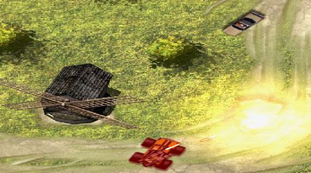 Screenshot of the game Monster Truck Rampage