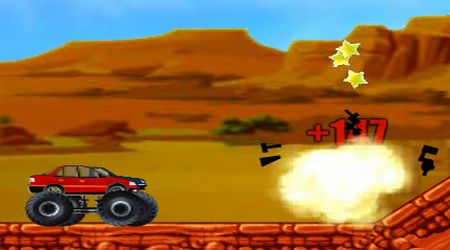 Screenshot of the game Monster Trucks Attack