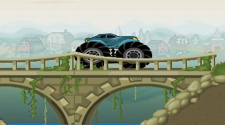 Screenshot of the game Monster Trucks Europe