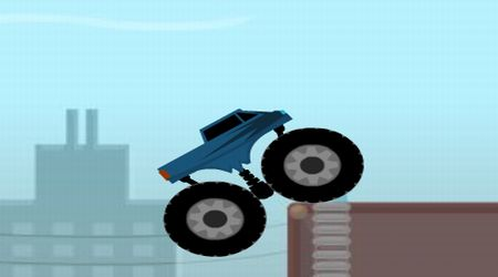 Screenshot of the game Monster Truck Trials