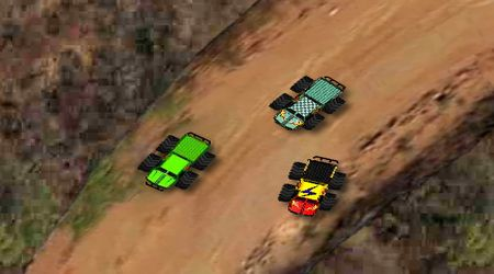Screenshot of the game Speed Trucks